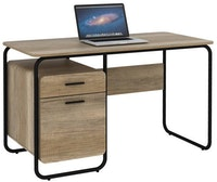 JYSK Meja Kerja - Office Desk Icon 120X60X75 Cm Canyon Oak