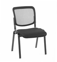 JYSK Kursi Meeting - Kursi Kerja - Anax Meeting Chair Black