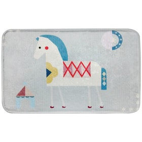 JYSK Keset Horse 40X60 Cm Light Blue