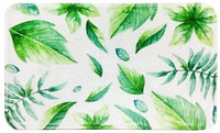JYSK Keset Small Leaves 40X60Cm Green