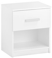 JYSK Bed Side Table Kabdrup 41X32X46Cm White