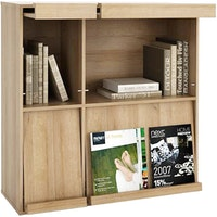 JYSK Cabinet Rak Buku - Bookcase 4 Shelves Excella 92X36X92CM Brown