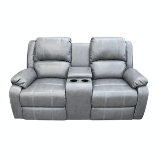 JYSK Sofa Recliner 2S Smerup 170X99X102 Dark Grey