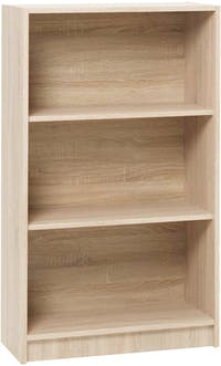 JYSK Bookcase Wide 3Shelves Horsens 70X30X120Cm Oak