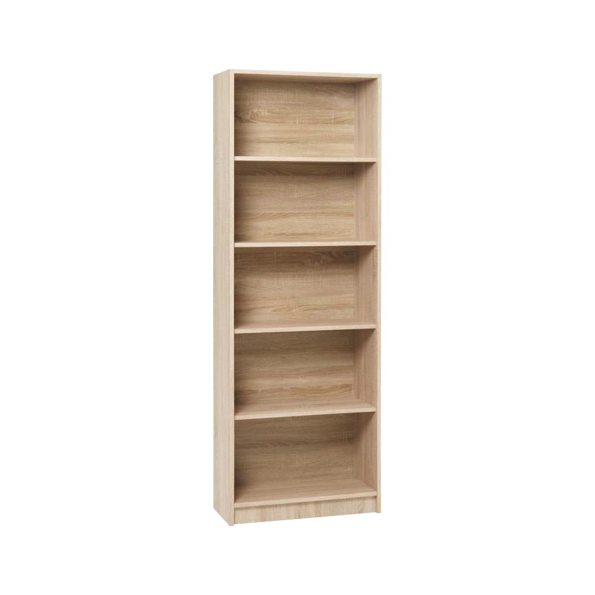 JYSK Bookcase 5Shelves Horsens 70X30X197Cm Brushed Oak