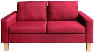 JYSK Sofa 2 Seater Burkal 145X74X79 Maroon Red