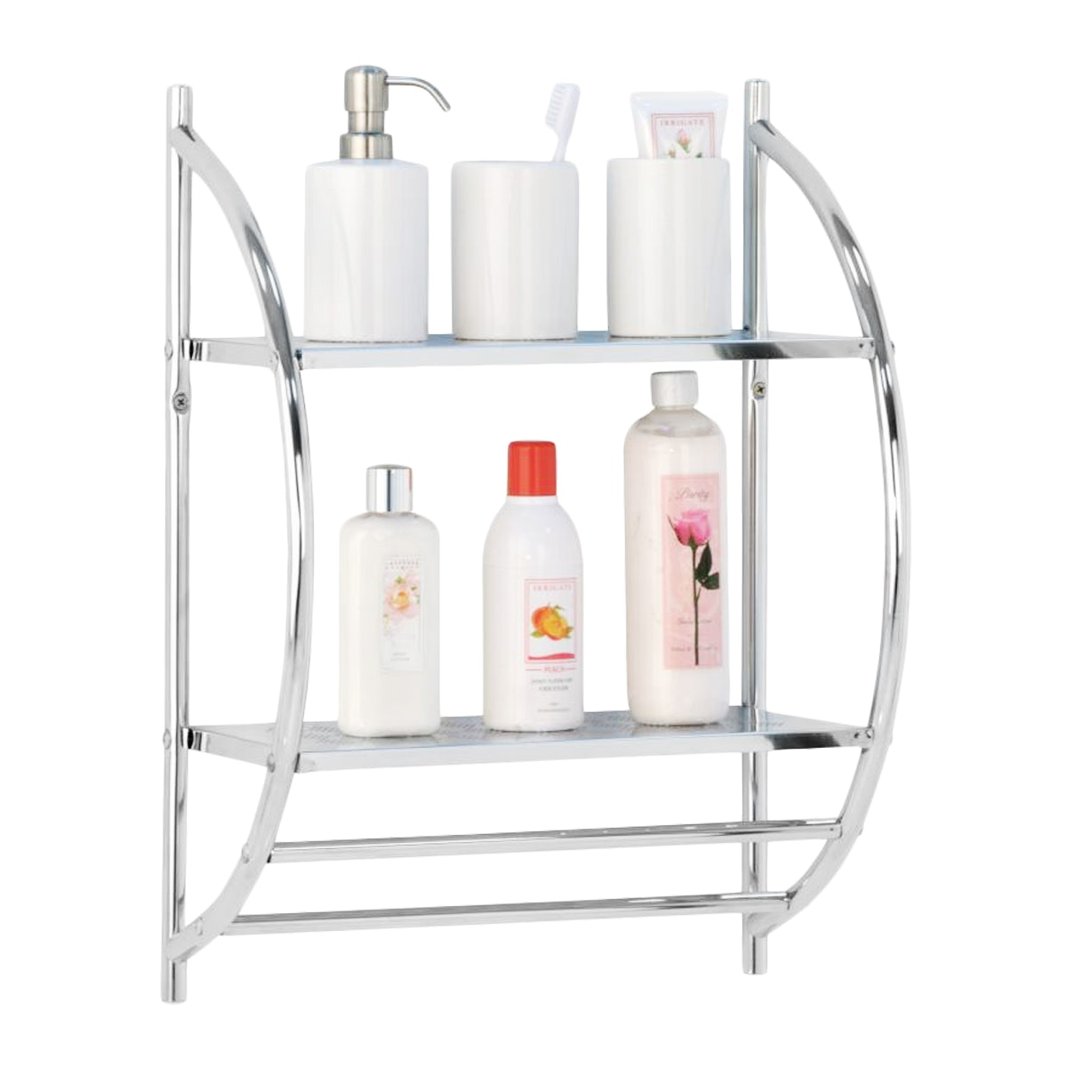 JYSK Wall Rack 2 Shelves Edmund 39X22X54Cm Metal