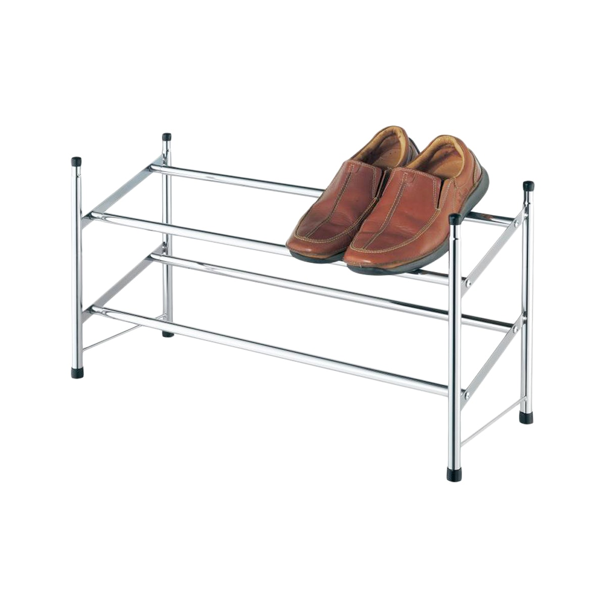 JYSK Shoe Rack Extendable Howard 199X22X35 Metal