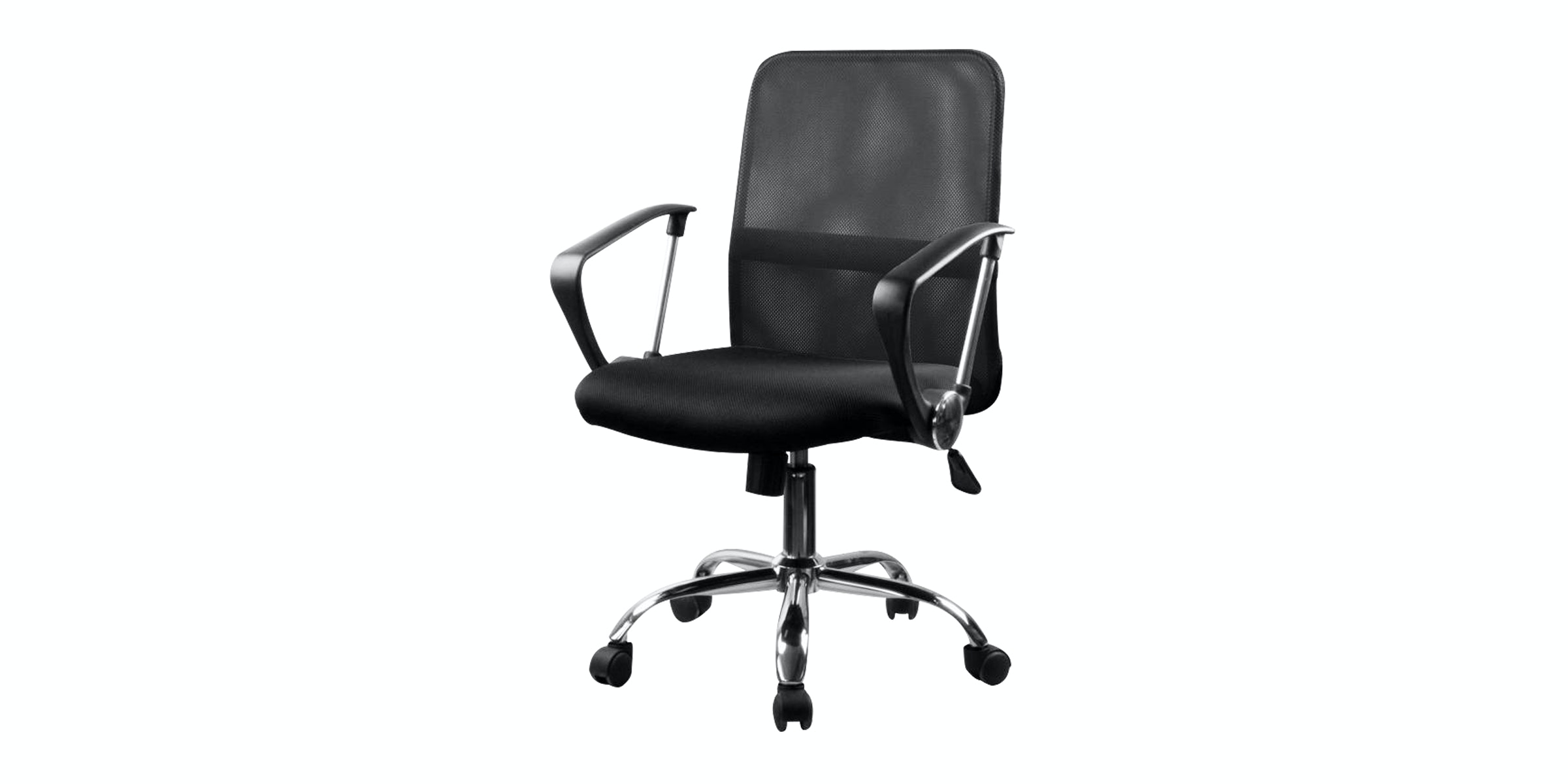 JYSK Office Chair Dalmose Low Back Black