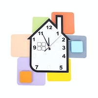 JYSK Wall Clock House 16Da178 White