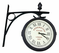 JYSK Railway Station Clock Rala D21Cm Black