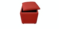 JYSK Pouffe Holeby With Storage 40X40Cm Red