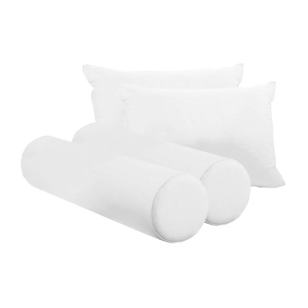 JYSK Pillow 2Pcs And Bolster 2Pcs