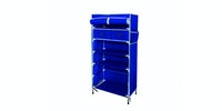 JYSK Shoe Cabinet 2 Drawers Damhus 60X30X112Cm Blue