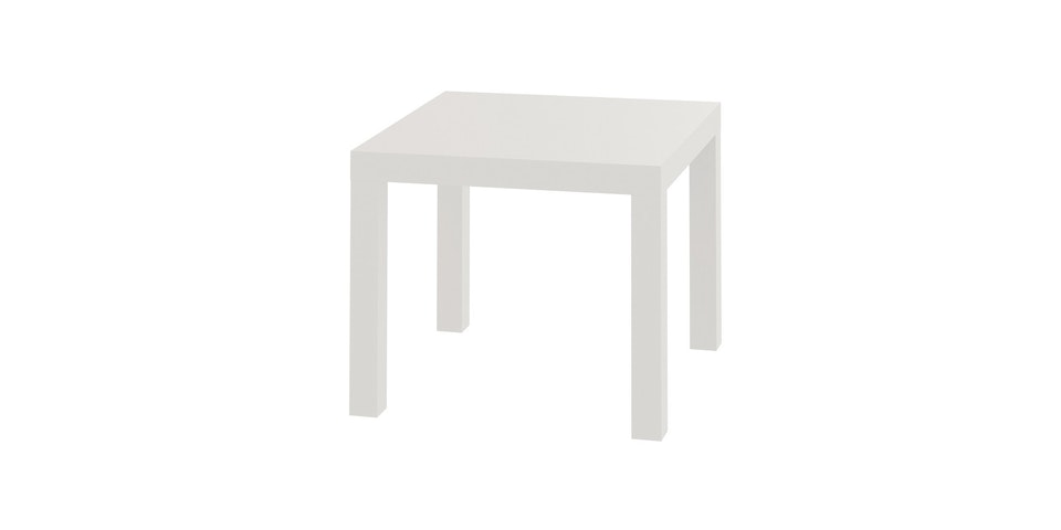 JYSK Koge Table - Pvc White