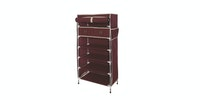 JYSK Chest 3+3 Drawers Damhus 60X30X112Cm Maroon