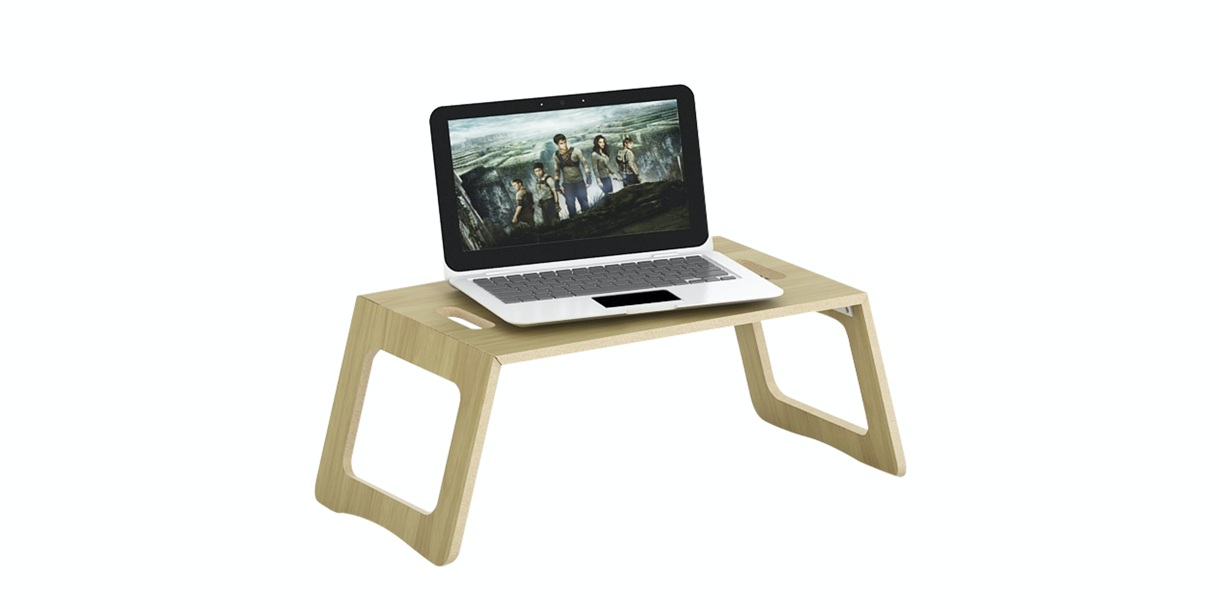 JYSK Laptop Support ELI 29X60 cm Euro Oak