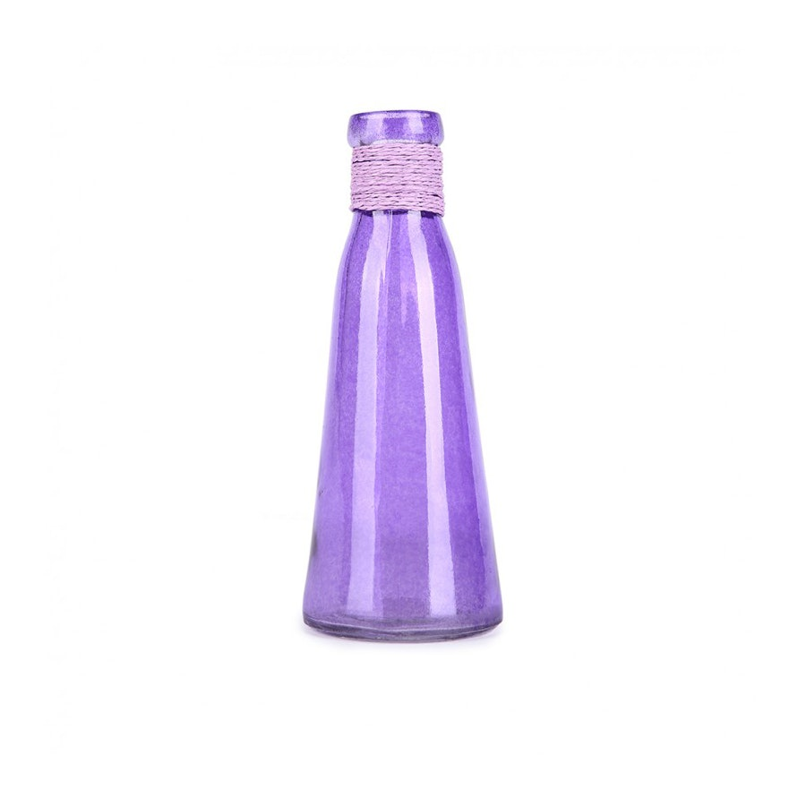 JYSK Glass Vase Ungu