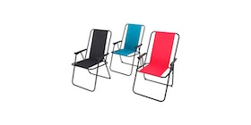 JYSK Picnic Chair Bymarka Steel/Poly Assorted