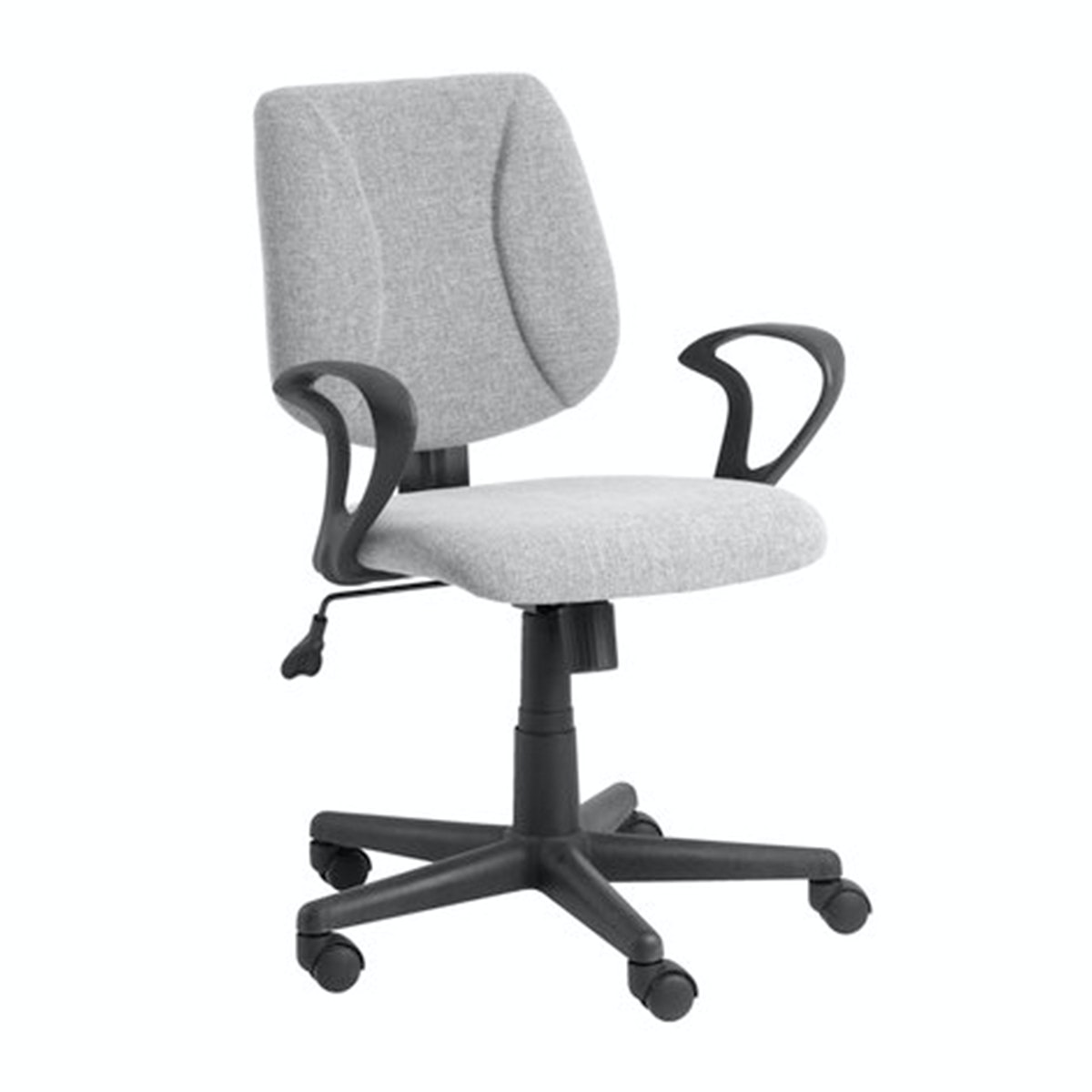 JYSK Office Chair Rungsted Fabric Grey
