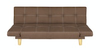 JYSK Sofa Bed Ommel 3 Seater Fabric Brown