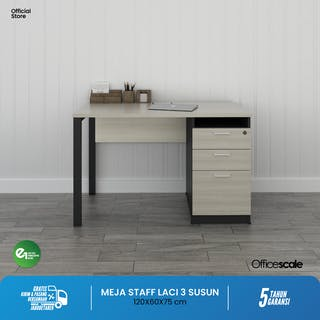 Officescale PCD1206A1 Clerical Desk 1200x600x750mm