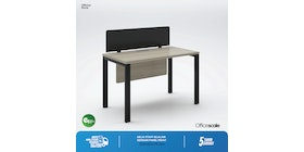 Officescale PW11206A1 WS 1 Seater Main Desk 1200x600x750mm