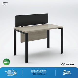 Officescale PW11406A1 WS 1 Seater Main Desk 1400x600x750mm
