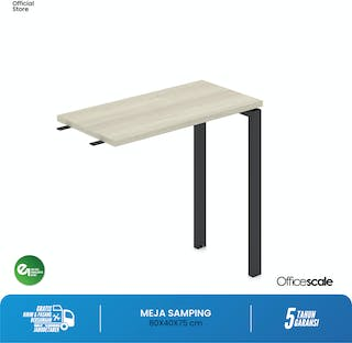 Officescale PRF0804A1 Fixed Return Desk 800x400x750mm