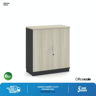 Officescale PMC0808A1 Medium Cabinet 800x400x870mm