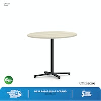 Officescale PMR0909A1 Round Meeting Table 900x900x750mm