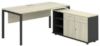 Officescale PMD1608A1 Manager Desk 1600x1800x750mm