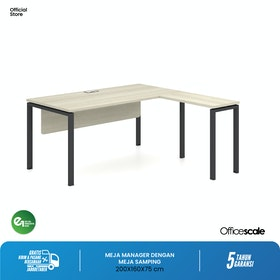 Officescale PMD2008A1 Manager Desk 2000x1600x750mm