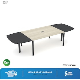 Officescale PMT2412A1 Main Desk Meeting Table 3400x1200x750mm