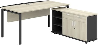 Officescale PMD2008A1 Manager Desk 2000x1800x750mm