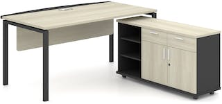 Officescale PMD1808A1 Manager Desk 1800x1800x750mm