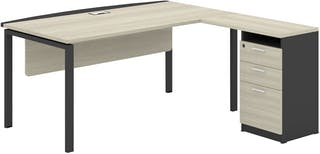 Officescale PMD2008A1 Manager Desk 2000x1750x750mm