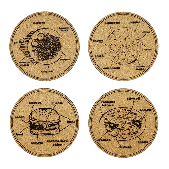 Kite Design Foodtonomy Coaster