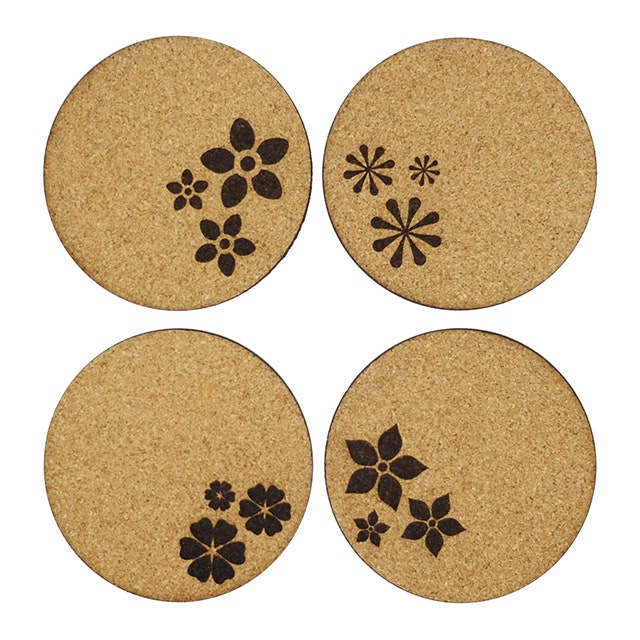 Kite Design Flower Coaster