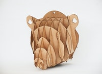 Kite Design Grizz Bear Head