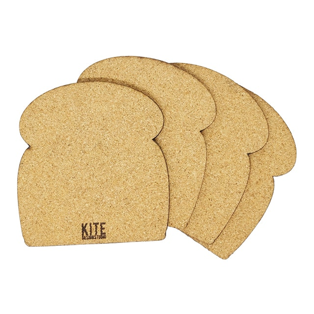 Kite Design Bread Coaster