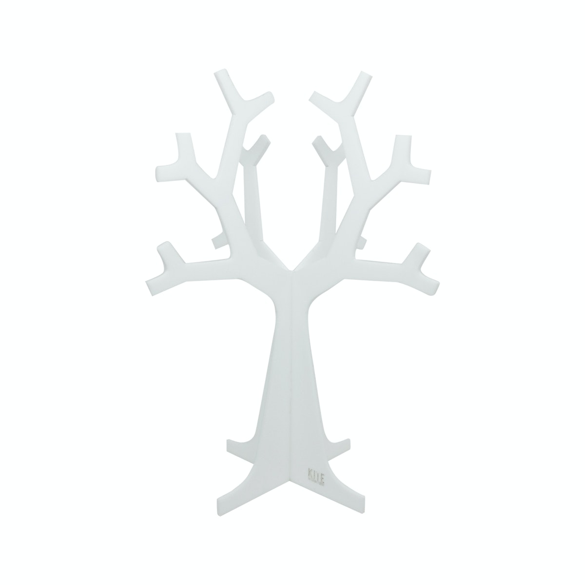 Kite Design Jewelry Tree White