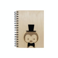 Kite Design Pinguin Boy Notebook