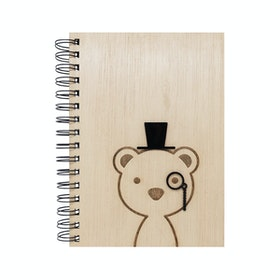 Kite Design Bear Boy Notebook