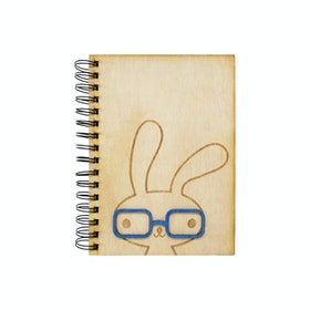Kite Design Bunny Boy Notebook