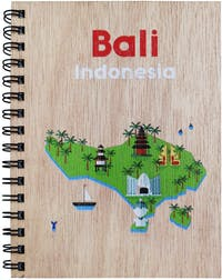 Kite Design Notebooks A5 Bali