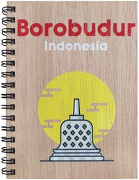 Kite Design Notebooks A5 Borobudur
