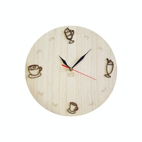 Kite Design Coffee Clock