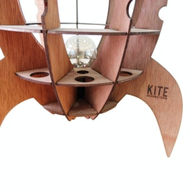 Kite Design Rocket Lamp