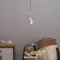 Lite and Deco Lampu Gantung 9926P/1 Wh+Gold